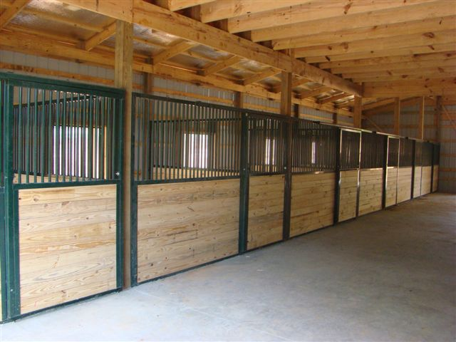Horse stalls from simple to extravagant, we can fit most ...