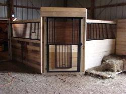 Horse Stalls From Simple To Extravagant We Can Fit Most